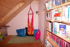 Spielecke in der Bücherei